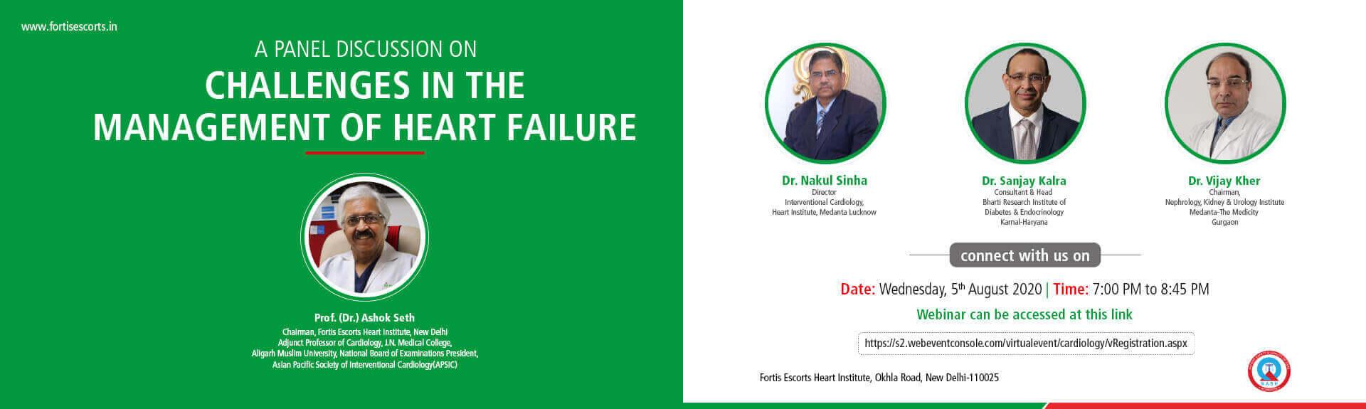 Dr. Ashok Seth Webinar