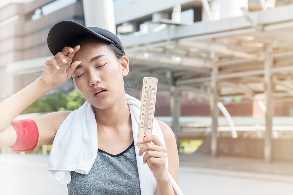 Exercise in Hot and Humid Weather