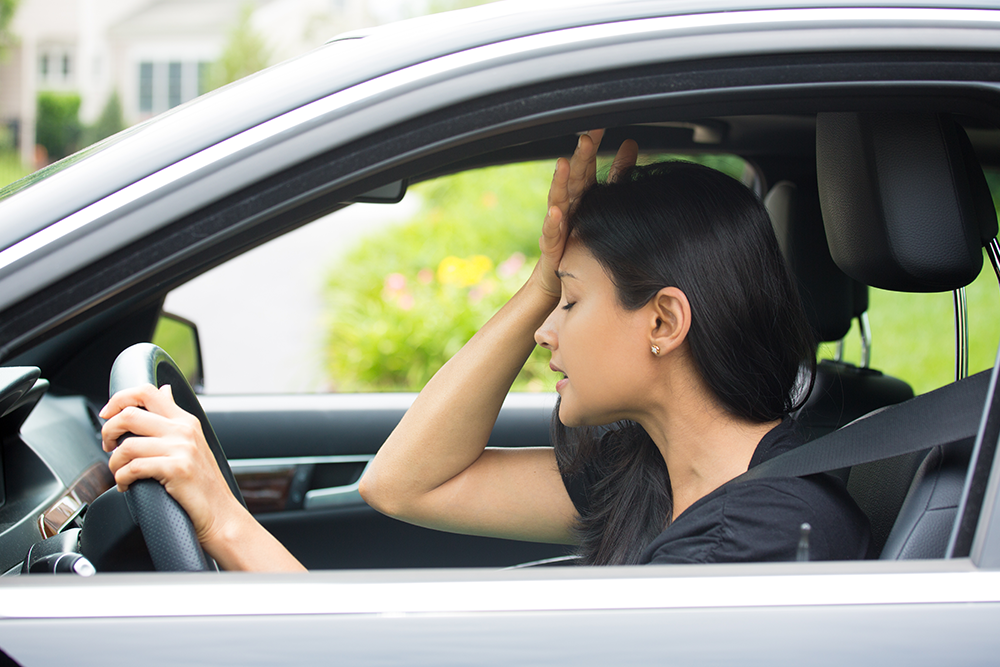 How Sitting In Traffic Jam Can Harm Your Health