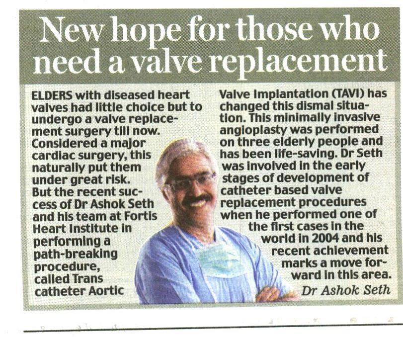 New hope for those who need a valve replacement