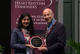 Dr. Aparna Jaswal honored with IBHRE's Ambassador of the Year Award