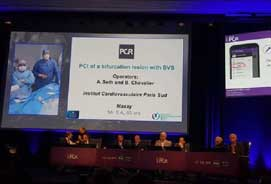 Dr Ashok Seth performed Live Cases at the largest intervention meetings around the world